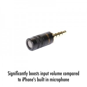 EIM-001 - External microphone for iPhone 6 iPhone 5s iPhone 5 iPhone 4s iPhone 4
