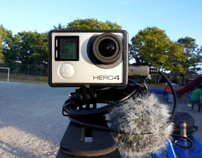 ETM-001 external microphone for GoPro Hero4 Black