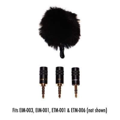 EWS-003 Furry Windscreen 1 - Edutige Microphones - For the best iOS