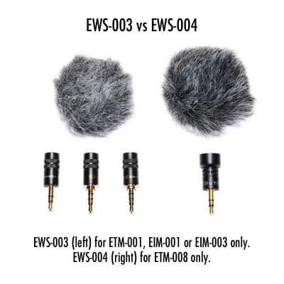 Edutige microphone furry windscreen