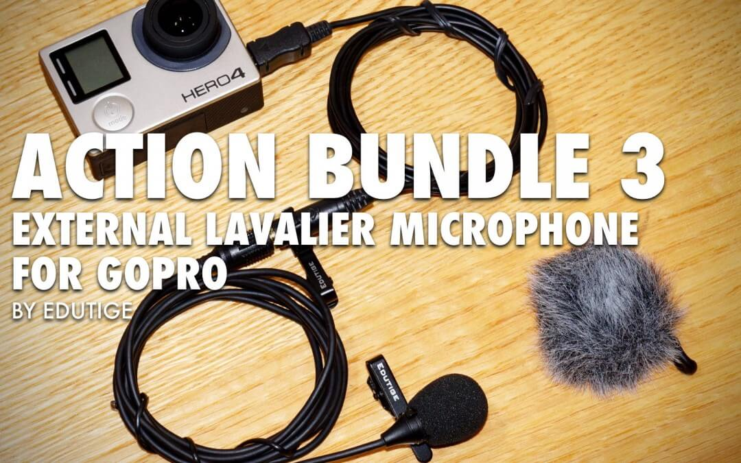 New GoPro External Mic Bundle! Lavalier Microphone Bundle for GoPro [VIDEO]