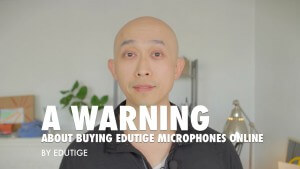 Where to buy Edutige microphone