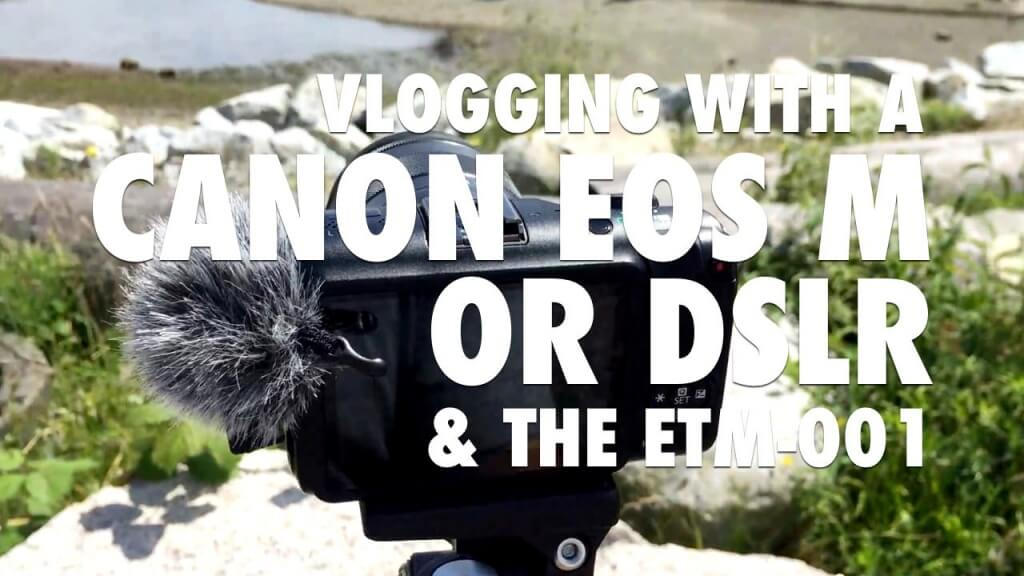 best external microphone for vlogging with DSLR