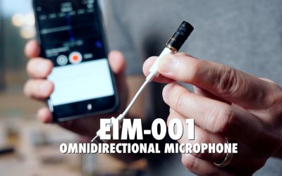 Edutige EIM-001 External Microphone for iPhone Using Lightning Adapter