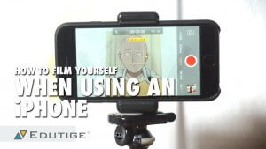 iPhone tips for selfie videos