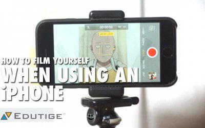 How to Film Yourself When Using an iPhone